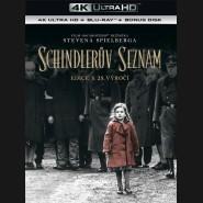 Schindlerův seznam 1993 (Schindler's List) - výroční edice 25 let (4K Ultra HD) - UHD Blu-ray + Blu-ray