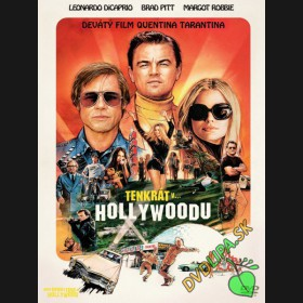 VTEDY V HOLLYWOODE 2019 (Once Upon a Time in Hollywood 2019) DVD