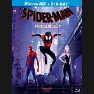 Spider-Man: Paralelní světy 2018 (Spider-Man: Into the Spider-Verse) Blu-ray 2D+3D