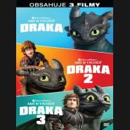 Jak vycvičit draka kolekce 1.-3. (3DVD)