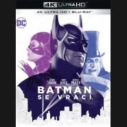Batman se vrací 1992 ( Batman Returns) (4K Ultra HD) - UHD Blu-ray + Blu-ray