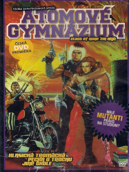 Atomové gymnázium 1986 (Class of Nuke 'Em High) DVD