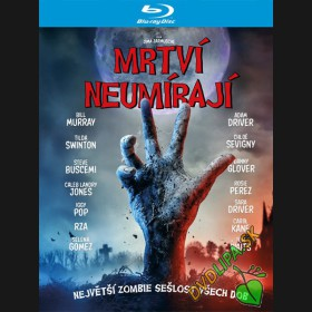 Mrtví neumírají 2019 (The Dead Don't Die) Blu-ray