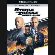 Rychle a zběsile: Hobbs a Shaw 2019 (Fast & Furious Presents: Hobbs & Shaw) (4K Ultra HD) - UHD Blu-ray + Blu-ray