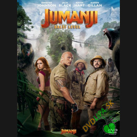 Jumanji: Další level 2019 (Jumanji: The Next Level) DVD