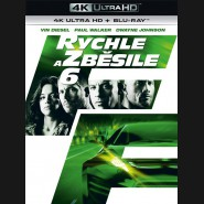 Rychle a zběsile 6 - 2013 (The Fast and the Furious 6)(4K Ultra HD) - UHD Blu-ray + Blu-ray