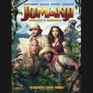 JUMANJI: VÍTEJTE V DŽUNGLI! (Jumanji: Welcome to the Jungle) DVD (SK obal)