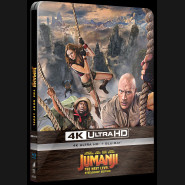 Jumanji: Další level 2019 (Jumanji: The Next Level) (4K Ultra HD) - UHD Blu-ray + Blu-ray Steelbook