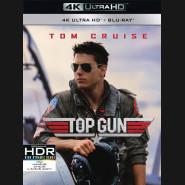 Top Gun 1986 (Top Gun) (4K Ultra HD) - UHD Blu-ray + Blu-ray remasterovaná verze