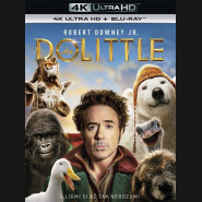 DOLITTLE 2020 (4K Ultra HD) - UHD Blu-ray + Blu-ray