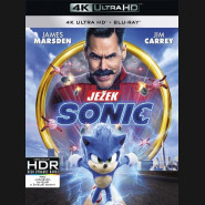 Ježko Sonic 2020 (Sonic the Hedgehog) (4K Ultra HD) - UHD Blu-ray + Blu-ray