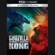 Godzilla vs. Kong 2021 (4K Ultra HD) - UHD Blu-ray + Blu-ray