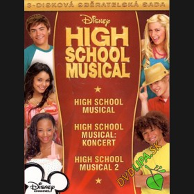 Kolekce: High School Musical - TRILOGIA (3 DVD)
