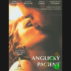 Anglický Pacient (The English Patient) DVD
