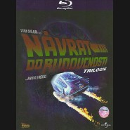 Trilogie: Návrat do budoucnosti I.-III. 3 x Blu-ray(Back to the Future)