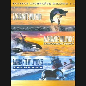 Zachraňte Willyho kolekce 3DVD  (Free Willy Collection)