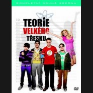 Teorie velkého třesku 2. série 4DVD  (Big Bang Theory Season 2 (4DVD)