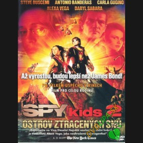 Spy Kids 2: Ostrov ztracených snů (Spy Kids 2: The Island of Lost Dreams) DVD