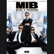 MUŽI V ČERNÉM: Globální hrozba 4 - 2019 (Men in Black: International 4) DVD