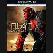 Hellboy 2: Zlatá armáda 2008 (Hellboy 2: The Golden Army) (4K Ultra HD) - UHD Blu-ray + Blu-ray