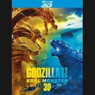 Godzilla II Král monster 2019 (Godzilla: King of the Monsters) 3D + 2D Blu-ray