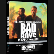 MIZEROVÉ NAVŽDY 2019 (Bad Boys For Life) (4K Ultra HD) - UHD Blu-ray + Blu-ray SteelBook