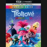 Trollovia 2:Svetové turné 2020 (Trolls World Tour) (4K Ultra HD) - UHD Blu-ray + Blu-ray