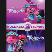Trollovia KOLEKCIA 1+2 DVD